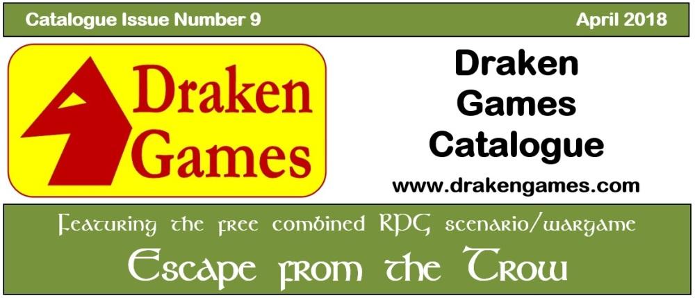Draken Games Catalogue 9 truncated cover