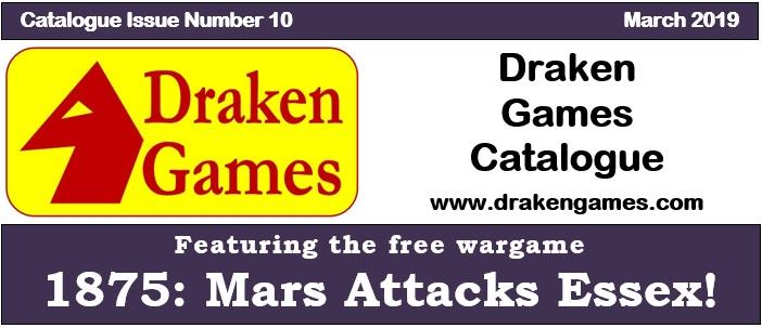 Draken Games Catalogue 10 truncated cover image