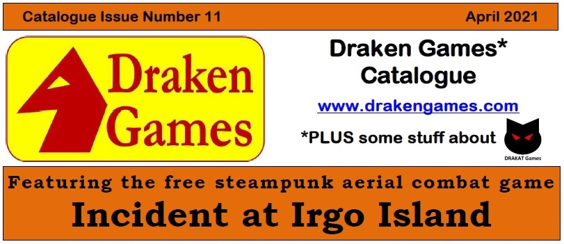 Draken Games Catalogue 11 website image